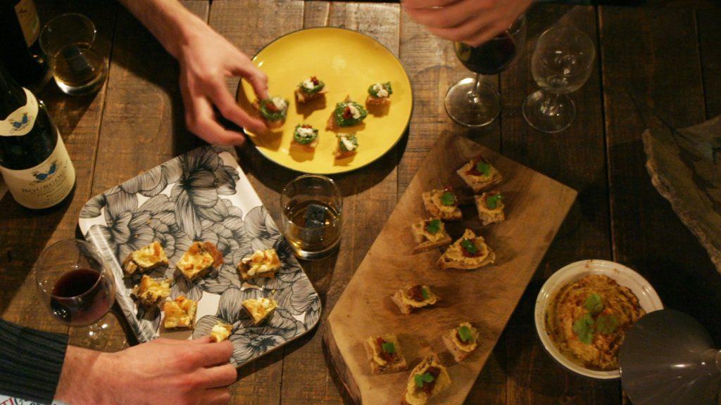 5 idées recettes d'apéro végé faciles, simples et délicieuses !