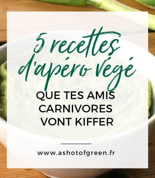 5 recettes d'apéritif végétarien faciles et rapides