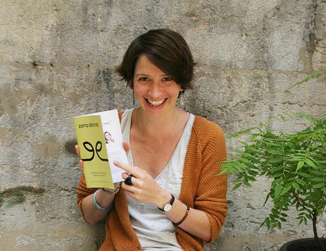 Interview Tiphaine de Tiff in Lyon sur le zéro déchet