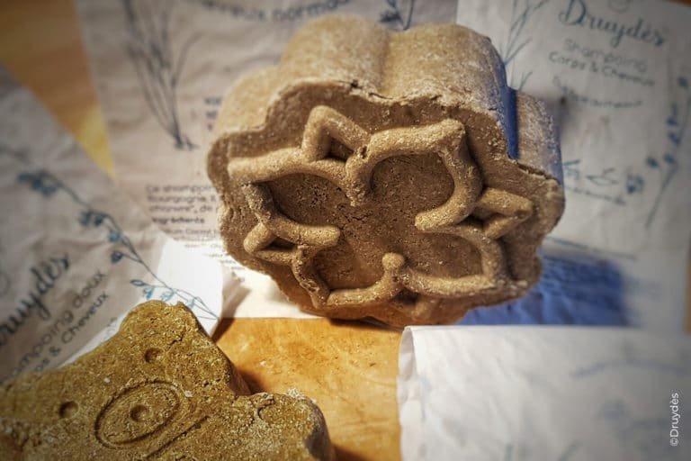 Shampoings solides naturels Druydès