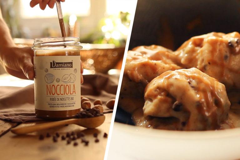 Nice cream : glace vegan banane chocolat noisette