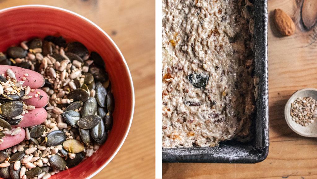 Pain énergie aux graines et fruits secs